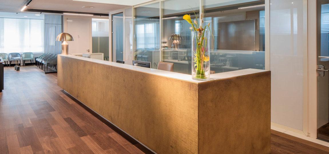 LMC - Leading Medical Center München Empfangsbereich